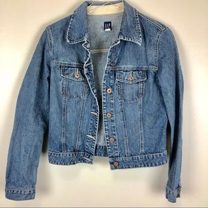 {GAP} denim cotton jacket • M